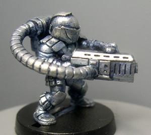 Knut with Pulse Gun