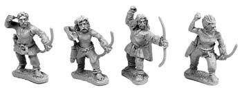 Gallic Archers (random 8 of 4 designs)