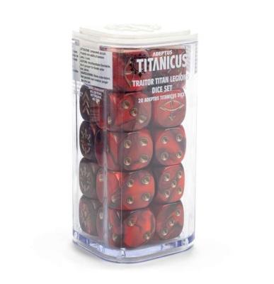 Adeptus Titanicus-Würfelset: Traitor Legions