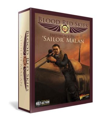 British Spitfire - Ace Pilot Sailor Malan