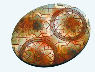 Mosaic Bases, Ellipse 120mm (1)
