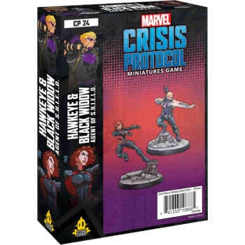 Marvel Crisis Protocol: Hawkeye and Black Widow - EN