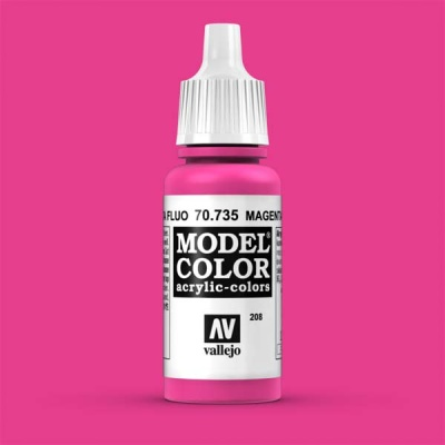 Model Color 208 Leuchtmagenta (Magenta Fluo) (735)