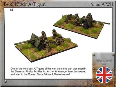 17pdr guns & Crew (2)