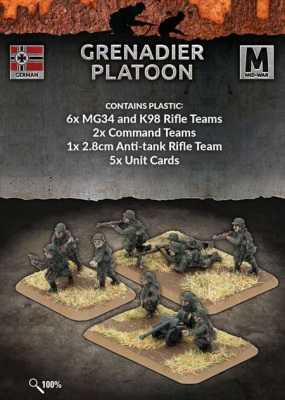 Grenadier Platoon (Plastic)
