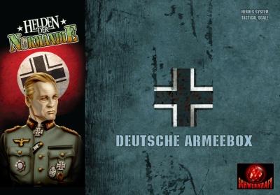Helden der Normandie Deutsche Armeebox