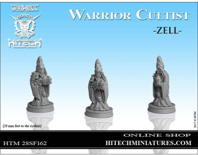 28mm  Warrior Cultist Zell