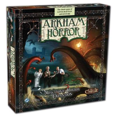 Arkham: Miskantonic Horror Exp. engl.