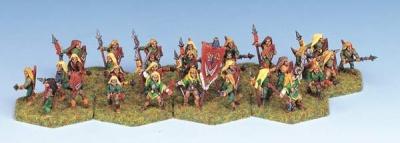 Wood Elf Spearmen (32)