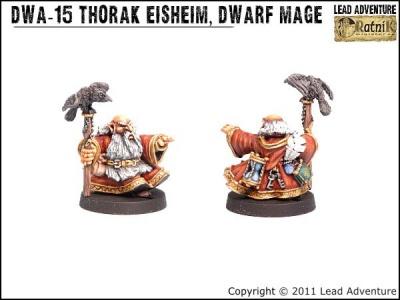 Thorak Eisheim, the Dwarf Mage (1)
