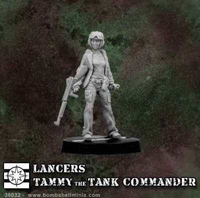 Tammy The Tank Commander (Lancers)