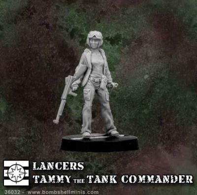 Tammy The Tank Commander (Lancers)