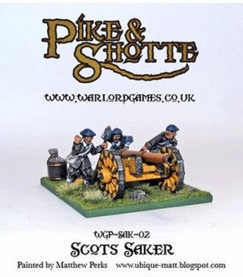 Pike & Shotte Scots Saker Cannon + Crew