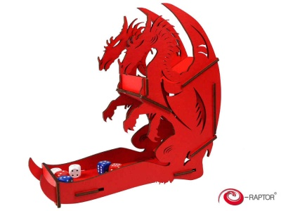 Dice Tower - Dragon (Red)