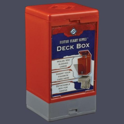 Deck Boxes: Red