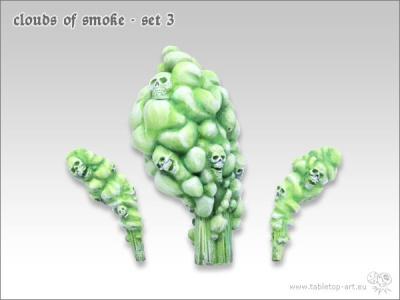 Rauchwolken Set #3 (3)
