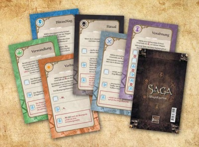 Saga: Ära der Magie Magiekarten (36)