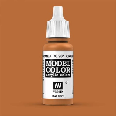 Model Color 131 Orangebraun (Orange Brown) (981)