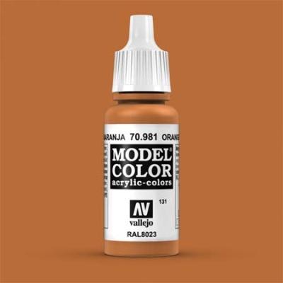 Model Color 131 Orangebraun (Orange Brown) (981)
