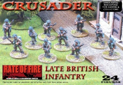 Crusader WWII: Late British Infantry Box Set