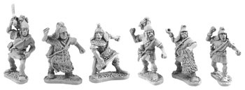 Lusitanian Warriors (random 8 of 6 designs)