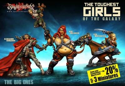 Heroes Box: The Big Ones (JB, KST, IE)