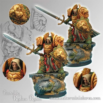 28mm Lion SF Knight #2 (1)