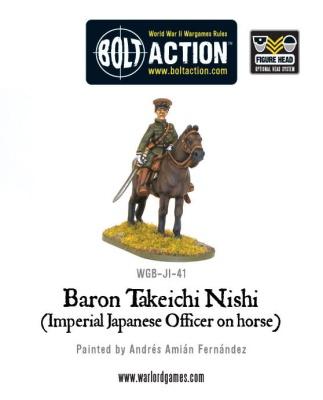 Imperial Japanese Army Baron Nishi