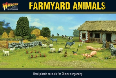 Farmyard Animals (Plastic)