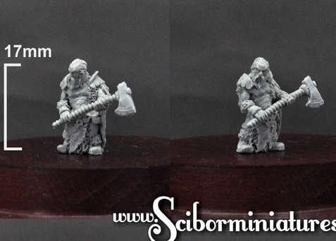 15mm Barbarian #2