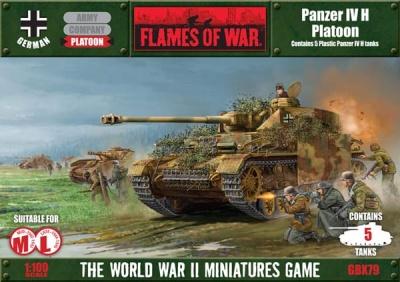 Panzer IVH Plastic Box (plastic)
