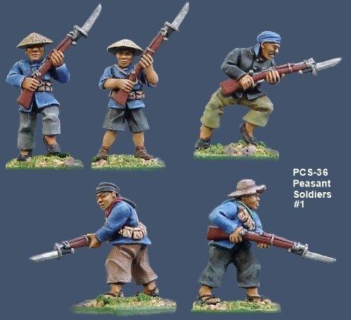 Peasant Soldiers #1