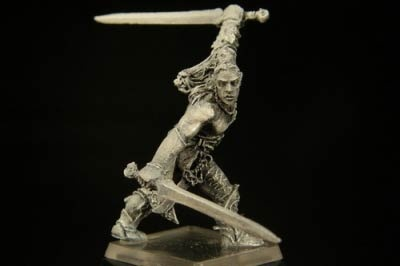 Silvanus Held mit Schwertern