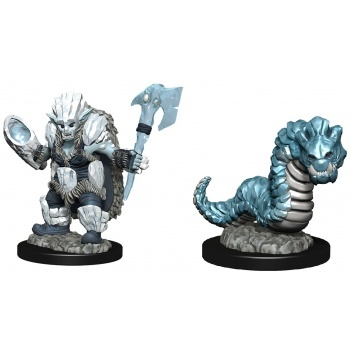 WizKids Wardlings: Ice Orc & Ice Worm (6