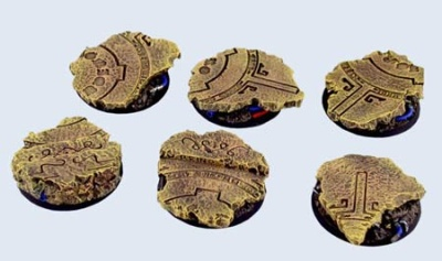 Temple Bases, Round 40mm (2)