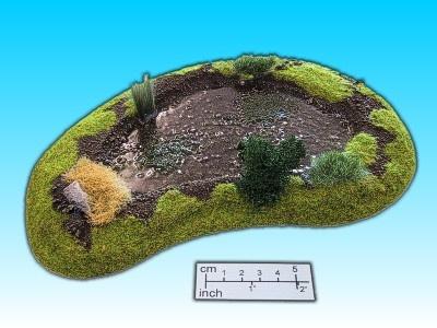 Geländestück Teich