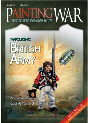 Painting War 4: British Army Napoleonic