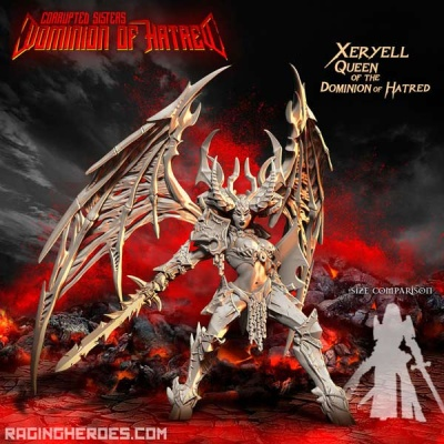 XERYELL, QUEEN OF THE DOMINION OF HATRED (CS - F/SF)