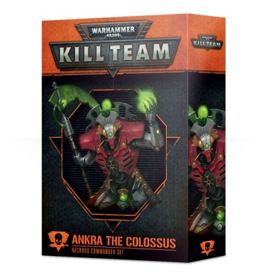 WH40K: Commander Ankra the Colossus (ENGLISCH)