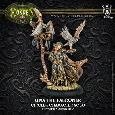 Circle Una the Falconer, Solo