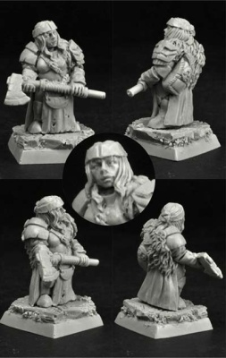 28mm/30mm Dwarf Female Kardish (1)
