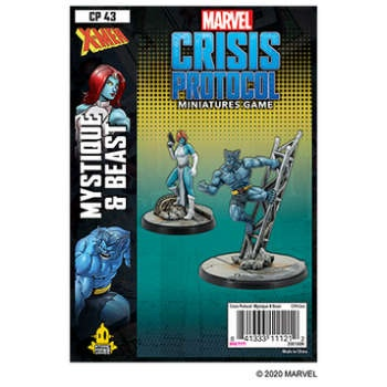 Marvel Crisis Protocol: Mystique and Beast - EN