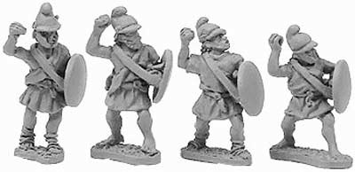 Macedonian Pezetairo w/Javelins (random 8 of 4 de