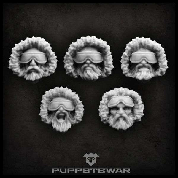 Arctic troopers heads