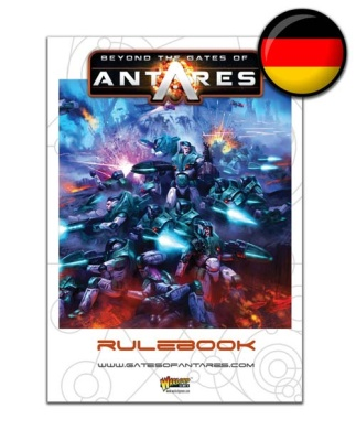 Beyond the Gates of Antares Rulebook (DEUTSCH)