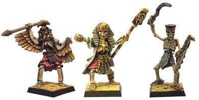 Ägyptische Skelette