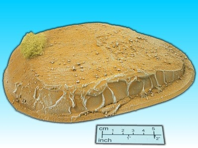 Geländestück Wüstenhügel