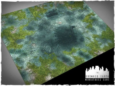 Game mat - Drowned Earth 4x3