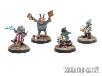 Goblin Coach & Staff Set 1 (4)