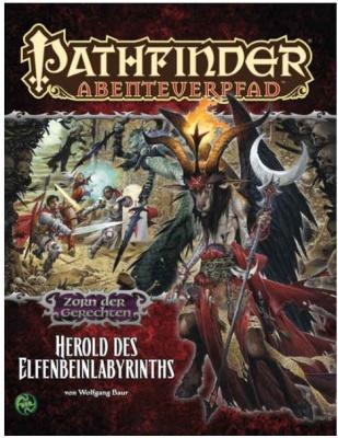 Zorn der Gerechten #5: Herold des Elfenbein-Labyrinths
